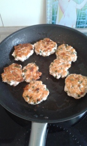 kippenburgers in de pan 2